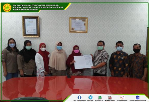 BPTP Riau komitmen melaksanakan keterbukaan infomasi publik